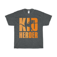 Load image into Gallery viewer, Kid Herder Unisex Heavy Cotton Tee-T-Shirt-PureDesignTees