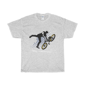 Extreme Bike Unisex Heavy Cotton Tee-T-Shirt-PureDesignTees