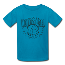 Load image into Gallery viewer, VolleyBall Kids' T-Shirt-Kids' T-Shirt-PureDesignTees