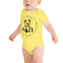 Load image into Gallery viewer, The Snuggle is Real Baby short sleeve one piece-Baby Onesie-PureDesignTees