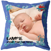 Load image into Gallery viewer, Baby Boy Personalized Throw Pillow-Pillows Multi Template-PureDesignTees