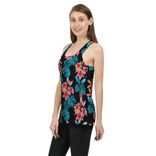 Load image into Gallery viewer, Tropical Floral Women's Tank-cloth-PureDesignTees