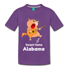 Load image into Gallery viewer, Cat Singing Sweet Home Alabama Kids' Premium T-Shirt-Kids' Premium T-Shirt-PureDesignTees
