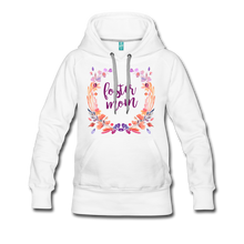 Load image into Gallery viewer, Foster Mom Women's Premium Hoodie-Women's Premium Hoodie-PureDesignTees
