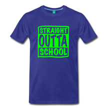 Load image into Gallery viewer, Straight Outta School Men's Premium T-Shirt-Men's Premium T-Shirt-PureDesignTees