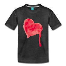 Load image into Gallery viewer, Dripping Heart Kids' Premium T-Shirt-Kids' Premium T-Shirt-PureDesignTees