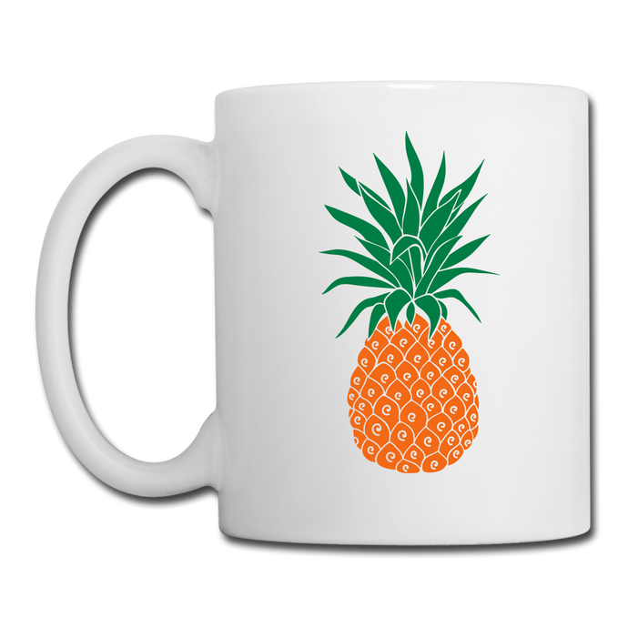 Pineapple Coffee/Tea Mug-Coffee/Tea Mug-PureDesignTees