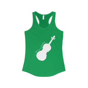 Fit as a Fiddle! Women's The Ideal Racerback Tank - PureDesignTees