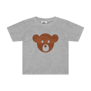 Teddy Bear Face Kids Tee, Kids clothes - PureDesignTees