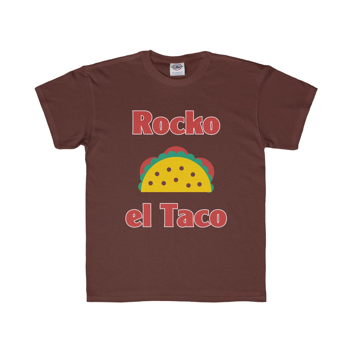 Rocko el Taco Youth Regular Fit Tee - PureDesignTees