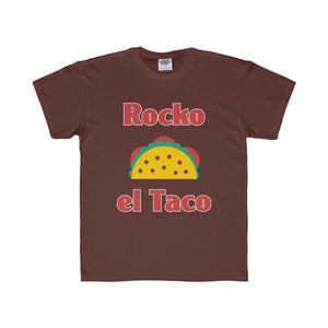 Rocko el Taco Youth Regular Fit Tee-Kids clothes-PureDesignTees