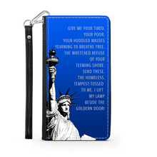 Load image into Gallery viewer, Statue of Liberty Wallet Phone Case-PureDesignTees