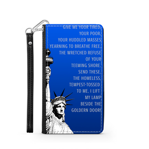 Statue of Liberty Wallet Phone Case-PureDesignTees