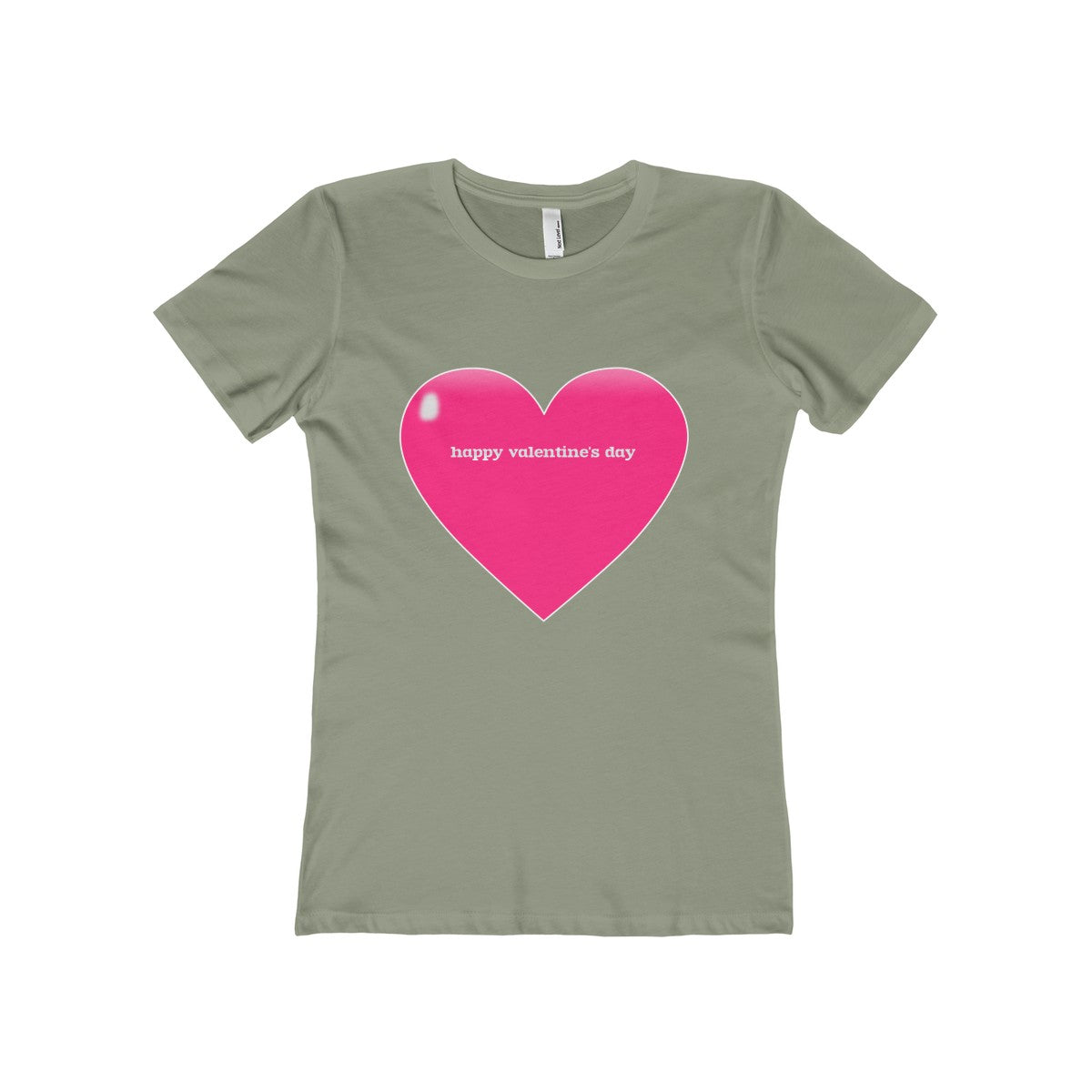 Happy Valentine's Day Women's The Boyfriend Tee - PureDesignTees