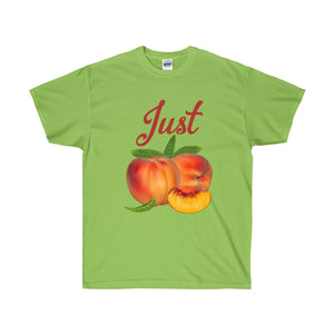 Just Peachy Unisex Ultra Cotton Tee-T-Shirt-PureDesignTees