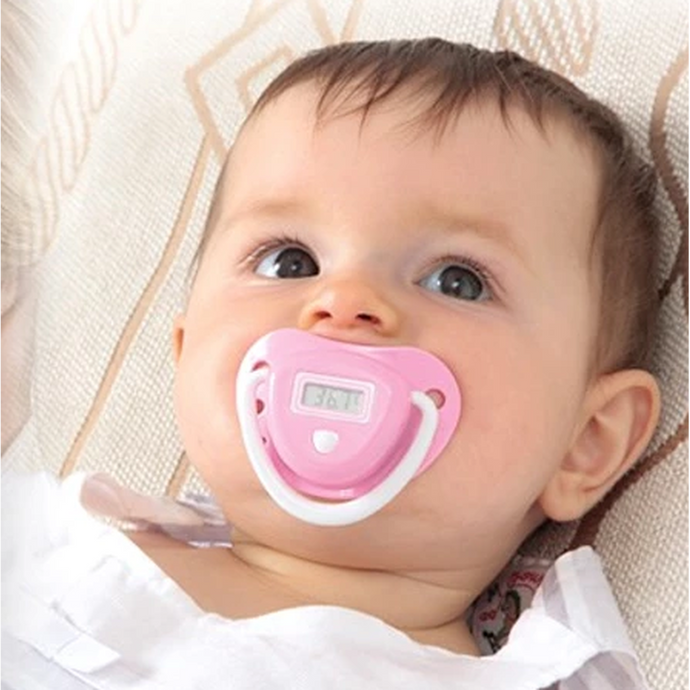 Baby Pacifier Thermometer with LCD Display-Latest Products-PureDesignTees