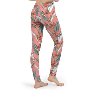 Birds of Paradise Women's Yoga Pant-cloth-PureDesignTees