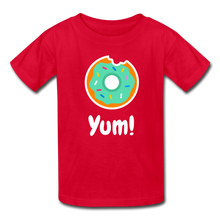 Load image into Gallery viewer, Yum! Donut Kids' T-Shirt-Kids' T-Shirt-PureDesignTees