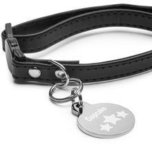 Load image into Gallery viewer, Personalized with Stars Engraved pet ID tag-Pet ID tag-PureDesignTees