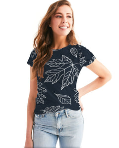 Fall leaves Women's Tee-cloth-PureDesignTees