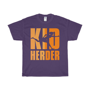 Kid Herder Unisex Heavy Cotton Tee-T-Shirt-PureDesignTees