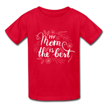 Load image into Gallery viewer, My Mom is the Best Kids' T-Shirt-Kids' T-Shirt-PureDesignTees
