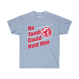 No Tomb Could Hold Him Unisex Ultra Cotton Tee-T-Shirt-PureDesignTees