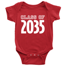 Load image into Gallery viewer, Class of 2035 Baby Onesie-Onesie-PureDesignTees