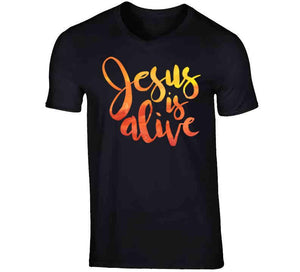 Jesus Is Alive-T-Shirt-PureDesignTees