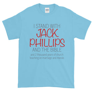 I Stand With Jack Phillips T-Shirt-T-Shirt-PureDesignTees