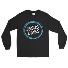 Load image into Gallery viewer, Jesus Lives Long Sleeve T-Shirt-Long sleeve t-shirt-PureDesignTees
