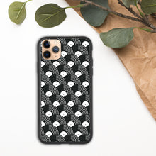 Load image into Gallery viewer, Vinyl Record Pattern Biodegradable phone case-iPhone Case-PureDesignTees