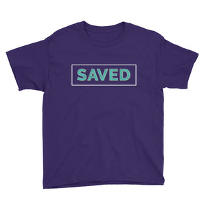 Saved Youth Short Sleeve T-Shirt For Boys-T-Shirt-PureDesignTees