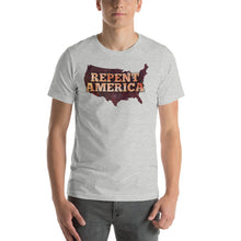 Load image into Gallery viewer, Repent America Short-Sleeve Unisex T-Shirt-t-shirt-PureDesignTees