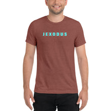 Load image into Gallery viewer, Jexodus Short sleeve Tri-blend t-shirt-Tri-Blend T-Shirt-PureDesignTees