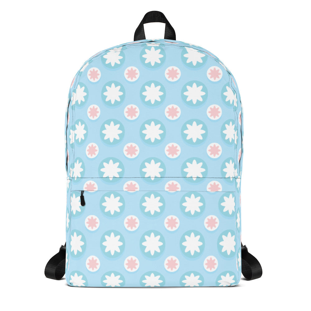 Baby blue Backpack, backpack - PureDesignTees
