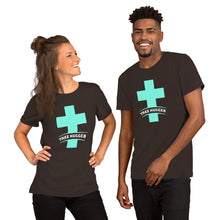Load image into Gallery viewer, Cross Tree Hugger Short-Sleeve Unisex T-Shirt-t-shirt-PureDesignTees