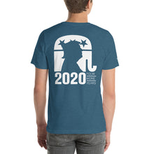 Load image into Gallery viewer, Trump 2020 Front Back and Sleeve Print Short-Sleeve Unisex T-Shirt-t-shirt-PureDesignTees