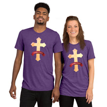 Load image into Gallery viewer, Forgiven Tri-blend Short sleeve t-shirt-tri-blend t-shirt-PureDesignTees