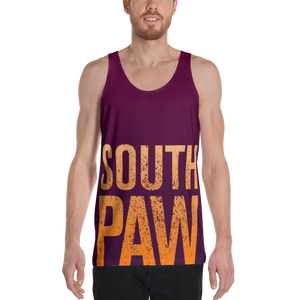 South Paw Unisex Tank Top-Tank Top-PureDesignTees