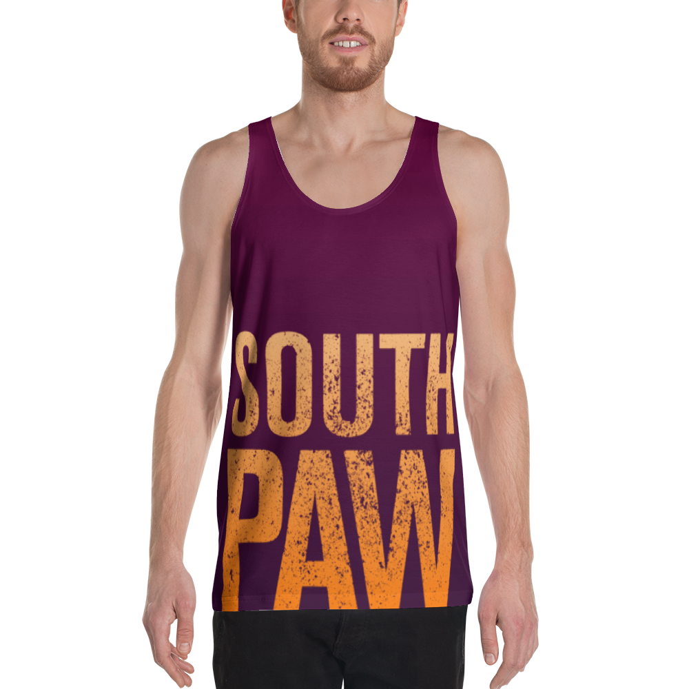 South Paw Unisex Tank Top, Tank Top - PureDesignTees