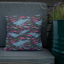 Load image into Gallery viewer, Undersea Pattern Premium Pillow-Premium Throw Pillow-PureDesignTees