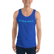Load image into Gallery viewer, Straight Unisex Tank Top-Tank Top-PureDesignTees