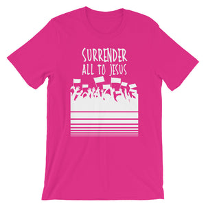 Surrender All to Jesus Unisex short sleeve t-shirt, T-Shirt - PureDesignTees