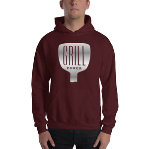 Grill Power Hooded Sweatshirt-hoodie-PureDesignTees