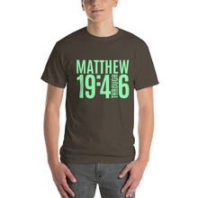 Load image into Gallery viewer, Matthew 19:4-6 Short-Sleeve T-Shirt-T-Shirt-PureDesignTees