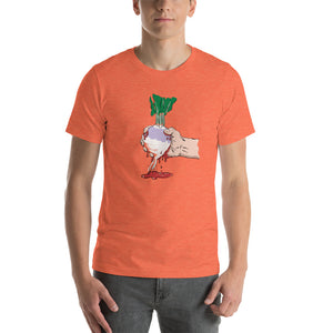 Squeezing Blood from a Turnip Short-Sleeve Unisex T-Shirt-T-Shirts-PureDesignTees