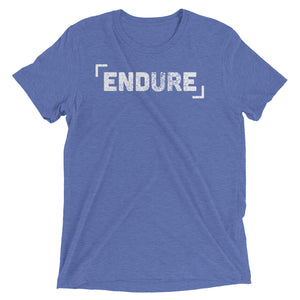 Endure Tri-blend Short sleeve t-shirt-T-Shirt-PureDesignTees
