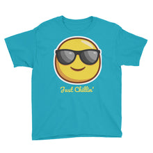 Load image into Gallery viewer, Just Chillin' Youth Short Sleeve T-Shirt-T-Shirt-PureDesignTees
