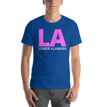 Load image into Gallery viewer, LA Lower Alabama Short-Sleeve Unisex T-Shirt-T-Shirt-PureDesignTees